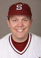 STANFORD, CA - JANUARY 7:  Kirk Erickson of the Stanford Cardinal baseball team poses for a headshot on January 7, 2009 in Stanford, California.