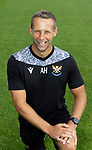 Alex Headrick, Sports Science,  St Johnstone FC...2021-22 Season<br />Picture by Graeme Hart.<br />Copyright Perthshire Picture Agency<br />Tel: 01738 623350  Mobile: 07990 594431