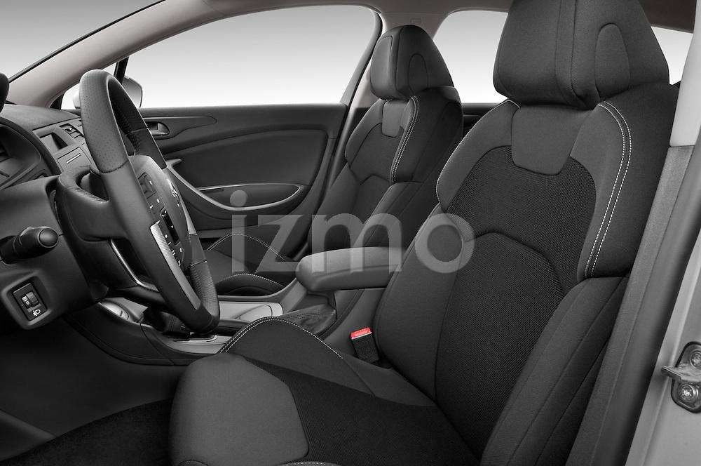 Front seat view of a 2010 Citroen C5 Dynamique 5 Door Wagon 2WD