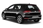 Car pictures of rear three quarter view of 2018 Volkswagen Golf-GTI-Performance - 5 Door Hatchback Angular Rear