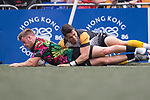 Penguin International vs Tradition YCAC during their Cub Semi-final match as part of the GFI HKFC Rugby Tens 2017 on 06 April 2017 in Hong Kong Football Club, Hong Kong, China. Photo by Juan Manuel Serrano / Power Sport Images