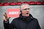 © Joel Goodman - 07973 332324 . 14/11/2015 . Manchester , UK . General Manager ANDY WALSH . FC United host Gainsborough Trinity in the National League North at Broadhurst Park . NB requested changing room access three times and was denied three times . Photo credit : Joel Goodman