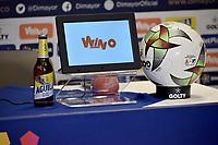 IBAGUE - COLOMBIA, 16-06-2021: Rueda de prensa previo al encuentro entre Deportes Tolima y Millonarios F. C. por la final ida como parte de la Liga BetPlay DIMAYOR 2021 en la ciudad de Ibague. / Press conference prior a first leg for the final match between Deportes Tolima and Millonarios F.C., as part of BetPlay DIMAYOR 2021 League in Ibague city. / Photos: VizzorImage / Joan Orjuela / Cont.