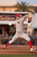 Pitcher Jared Cosart of the Clearwater Threshers during the game against the Daytona Beach Cubs at Jackie Robinson Ballpark on April 12, 2011 in Daytona Beach, Florida. Photo by Scott Jontes / Four Seam Images