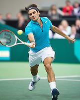 13-02-13, Tennis, Rotterdam, ABNAMROWTT,Roger Federer