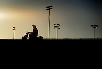 Apr. 4, 2009; Las Vegas, NV, USA: NHRA funny car driver John Force following qualifying for the Summitracing.com Nationals at The Strip in Las Vegas. Mandatory Credit: Mark J. Rebilas-