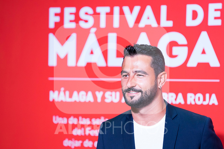 Antonio Velazquez during Photocall of presentation of Malaga Film Festival 2020. 21 August 2020. (Alterphotos/Francis Gonzalez)