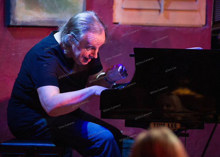 Paul Plimley plays with Tommy Babin at IronWorks, June 28, 2013 in the TD Vancouver International jazz Festival