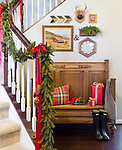 Holiday decor Magazine Craven Shoot