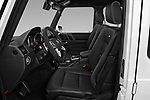 Front seat view of a 2018 Mercedes Benz G-Class G550 5 Door SUV front seat car photos