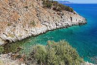 A beautiful bay in Eastern Mani, Greece