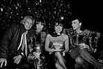 PATRIZIA GUCCI CON OTTAVIO MISSONI,  KRIZIA E DANIELA MORERA<br /> PREMIO THE BEST  RAINBOW ROOM ROCKFELLER CENTER NEW YORK 1982