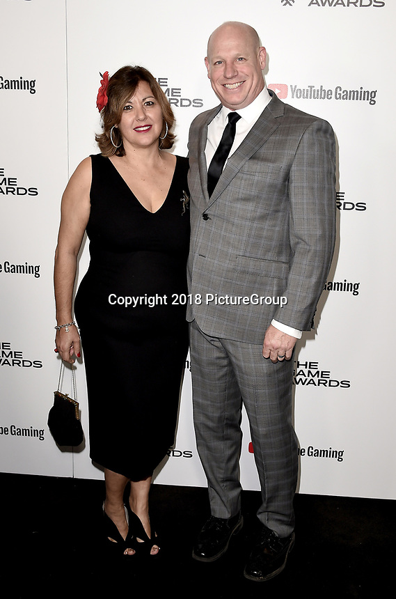 LOS ANGELES - DECEMBER 6: Alice Crysdale and Matt Crysdale attend the 2018 Game Awards at the Microsoft Theater on December 6, 2018 in Los Angeles, California. (Photo by Scott Kirkland/PictureGroup)