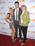 Fergie, Josh Duhamel and mom at Trevor Live At The Hollywood Palladium in Hollywood, California on December 04,2011                                                                               © 2011 Hollywood Press Agency