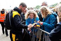 Photo: Richard Lane/Richard Lane Photography. Wasps v Leicester Tigers. Aviva Premiership. Semi Final. 20/05/2017. Wasps' Willie Le Roux arrives.
