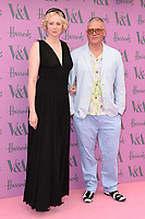 Gwendoline Christie and Giles Deacon<br /> arriving for the V&A Summer Party 2018, London<br /> <br /> ©Ash Knotek  D3410  20/06/2018