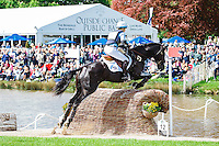 NZL-Jonelle Price (CLASSIC MOET) INTERIM-25TH: CROSS COUNTRY: 2015 GBR-Mitsubishi Motors Badminton Horse Trial CCI4* (Saturday 9 May) CREDIT: Libby Law COPYRIGHT: LIBBY LAW PHOTOGRAPHY