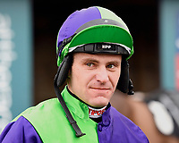 Jockey Nick Scholfield during Horse Racing at Plumpton Racecourse on 10th February 2020