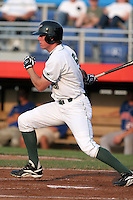 Jamestown Jammers Scott Cousins during a NY-Penn League game at Russell Diethrick Park on July 1, 2006 in Jamestown, New York.  (Mike Janes/Four Seam Images)