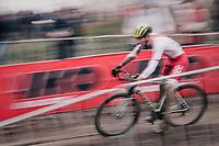 Piotr Krynski (POL)<br /> <br /> Junior Men's Race<br /> UCI CX Worlds 2018<br /> Valkenburg - The Netherlands