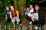 At one of the Fairy Forts part of Tonya's Trail in Killeen Woods on Saturday.<br /> L to r: Donncha O'Brien, Cayden Hannafin Foran, Leanne Hannafin, Ciara, Regina and Eoghan O'Connor.