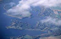 Deutschland, Mecklenburg Vorpommern, Schaalsee, Naturschutz, Techiner See, Kampenwerder, Blickrichtung von Süd nach Nord, Ostseite Schaalsee