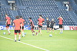 Players of FC Seoul (KOR) in action during a training session on 22 February 2016, one day before the 2016 AFC Champions League Group F Match Day 1 match between BURIRAM UNITED (THA) vs FC SEOUL (KOR) in Buriram, Thailand.