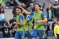Seattle, Washington - Sunday, June 4, 2017: The Seattle Sounders FC defeat the Houston Dynamo 1-0 in a Major League Soccer (MLS) match at CenturyLink Field.