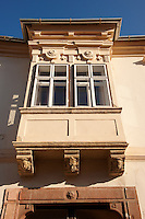 Copf style house Bay window - ( Gy?r )  Gyor Hungary
