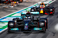July 3rd 2021; F1 Grand Prix of Austria, qualifying sessions;  BOTTAS Valtteri (fin), Mercedes AMG F1 GP W12 E Performance, VERSTAPPEN Max (ned), Red Bull Racing Honda RB16B during the  2021 Austrian Grand Prix, 9th round of the 2021 FIA Formula One World Championship