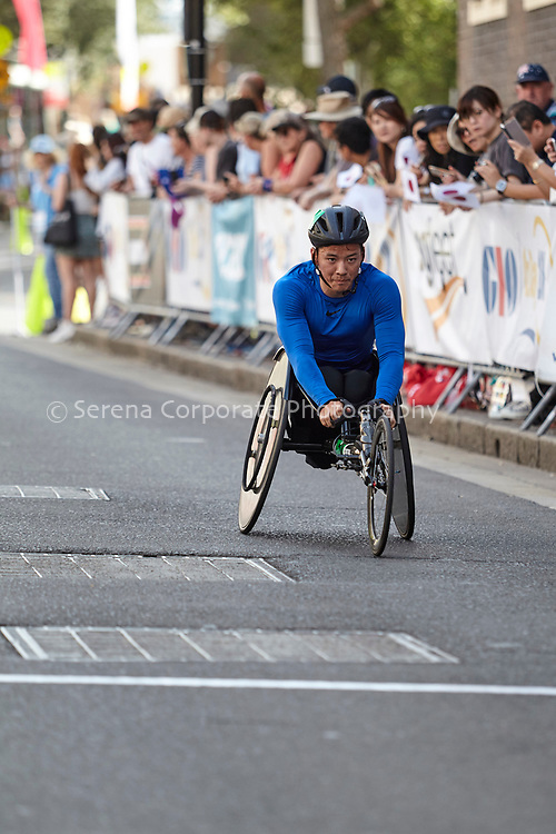 SDU 2020 Oz Day 10k wheelchair race