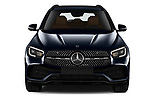Car photography straight front view of a 2020 Mercedes Benz GLC AMG-Line 5 Door SUV Front View