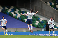 BELFAST, NORTHERN IRELAND - MARCH 28: Christian Pulisic #10 of the United States during a game between Northern Ireland and USMNT at Windsor Park on March 28, 2021 in Belfast, Northern Ireland.
