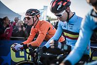 Mathieu Van der Poel (NED) pre race focus<br /> <br /> UEC CYCLO-CROSS EUROPEAN CHAMPIONSHIPS 2018<br /> 's-Hertogenbosch – The Netherlands<br /> Men Elite Race