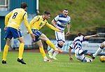 Greenock Morton v St Johnstone….09.07.19      Cappielow        Pre-Season Friendly<br />Michael O'Halloran scores for saints<br />Picture by Graeme Hart. <br />Copyright Perthshire Picture Agency<br />Tel: 01738 623350  Mobile: 07990 594431