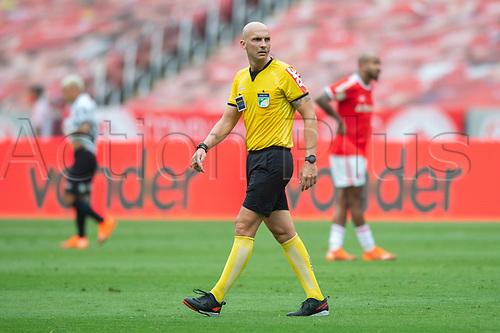 8th November 2020; Beira-Rio Stadium, Porto Alegre, Brazil; Brazilian Serie A, Internacional versus Coritiba; Referee Dyorgines Jose Padavani de Andrade