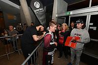 New Zealand Tall Blacks' Tohi Smith-Milner, FIBA World Cup Basketball Qualifier - NZ Tall Blacks v Jordan at Horncastle Arena, Christchurch, New Zealand on Thursday 29 November  2018. <br /> Photo by Masanori Udagawa. <br /> www.photowellington.photoshelter.com