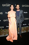 """14 October 2019 - Los Angeles, California - Lizzy Caplan, Tom Riley. Premiere Of Hulu's """"Castle Rock"""" Season 2 held at The AMC Sunset 5. Photo Credit: FayeS/AdMedia /MediaPunch"""