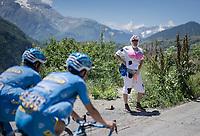 explicit 'fan'<br /> <br /> stage 7: Aoste > Alpe d'Huez (168km)<br /> 69th Critérium du Dauphiné 2017