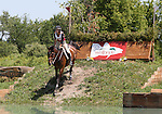 11 July 2009: Diana Burnett riding Manny during the cross country phase of the CIC 3* Maui Jim Horse Trials at Lamplight Equestrian Center in Wayne, Illinois.