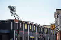 24th April 2021; Vicarage Road, Watford, Hertfordshire, England; English Football League Championship Football, Watford versus Millwall; Vicarage Road stadium before the game which could clinch promotion for Watford to the Premier League.