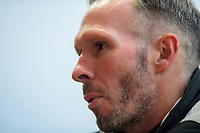 Lincoln City manager Michael Appleton speaks to the media following the game<br /> <br /> Photographer Chris Vaughan/CameraSport<br /> <br /> The EFL Sky Bet League One - Fleetwood Town v Lincoln City - Saturday 17th October 2020 - Highbury Stadium - Fleetwood<br /> <br /> World Copyright © 2020 CameraSport. All rights reserved. 43 Linden Ave. Countesthorpe. Leicester. England. LE8 5PG - Tel: +44 (0) 116 277 4147 - admin@camerasport.com - www.camerasport.com