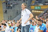Trainr Christian Gaudin (HSV) - Tag des Handball, Rhein-Neckar Löwen vs. Hamburger SV, Commerzbank Arena