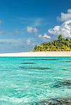 Tepuka Island in the Funafuti Marine Conservation Area, Tuvalu