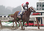 Trappe Shot, John Velazquez up, wins the Gr. II True North on Belmont Stakes Day. Trainer is Kiaran McLaughlin Belmont Park, June 10, 2011. (Joan Fairman Kanes/Eclipsesportswire)