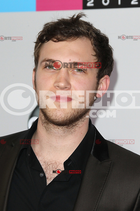 LOS ANGELES, CA - NOVEMBER 18: Phillip Phillips at the 40th American Music Awards held at Nokia Theatre L.A. Live on November 18, 2012 in Los Angeles, California. Credit: mpi20/MediaPunch Inc. NortePhoto