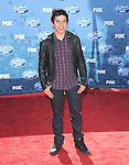 David Archuleta at Fox's  2011 American Idol Finale held at The Nokia Live in Los Angeles, California on May 25,2011                                                                               © 2011 Hollywood Press Agency