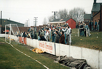 General view of Witton Albion FC, The Central Ground, Witton Street, Northwich, Cheshire, pictured on 23rd January 1988