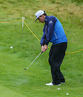 170719 | The 148th Open - Wednesday Practice<br /> <br /> Rafa Cabrera Bello of Spain on the 18th  during practice for the 148th Open Championship at Royal Portrush Golf Club, County Antrim, Northern Ireland. Photo by John Dickson - DICKSONDIGITAL