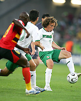 Gerardo Torrado (6) of Mexico brings the ball under control. Mexico and Angola played to a 0-0 tie in their FIFA World Cup Group D match at FIFA World Cup Stadium, Hanover, Germany, June 16, 2006.
